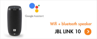 JBL Link 10 - met Google Assistent | Wifi + bluetooth speaker