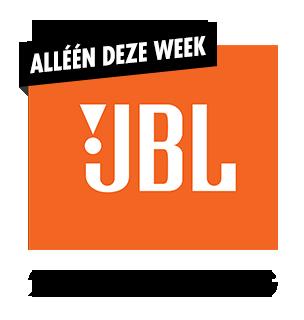 20% korting JBL hoofdtelefoons en bluetooth speakers
