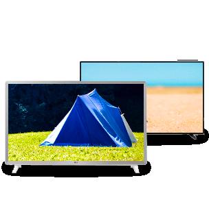 Televisie op de camping