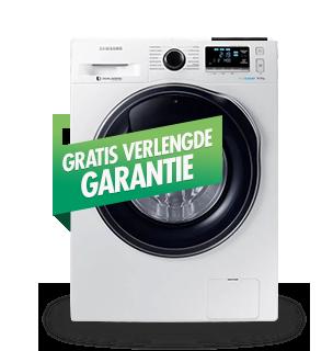 Wasmachines met extra garantie