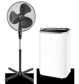 Verkoeling bij Expert: Airco's en ventilatoren