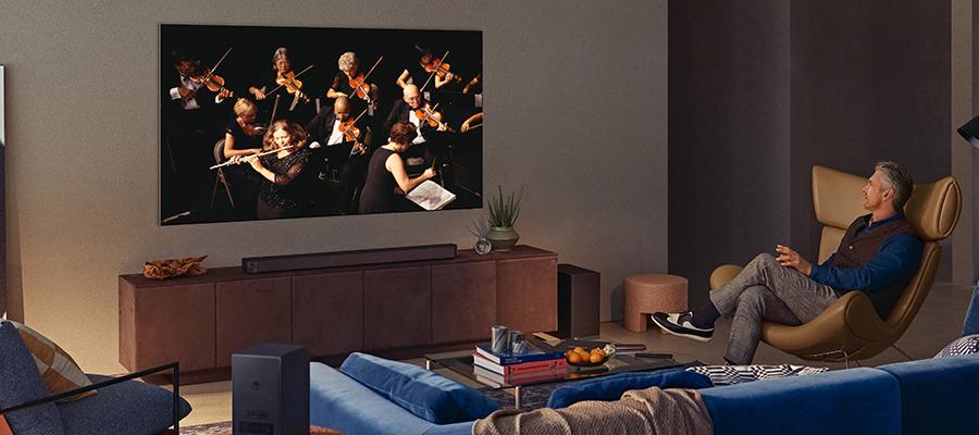 Samsung Q-Symphony tv's   Gratis bij jou thuisbezorgd bij Expert