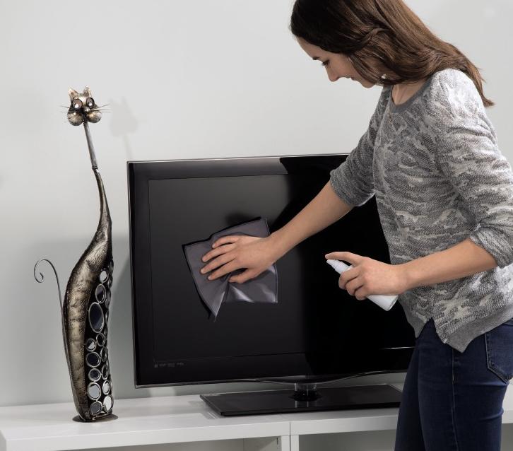 Stof weghalen tv