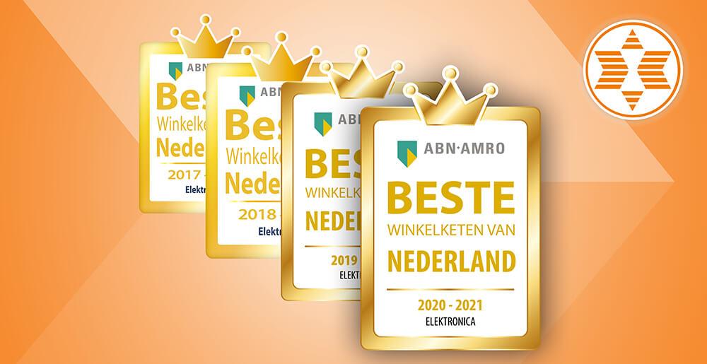 Expert opnieuw uitgeroepen tot de beste winkelketen van Nederland