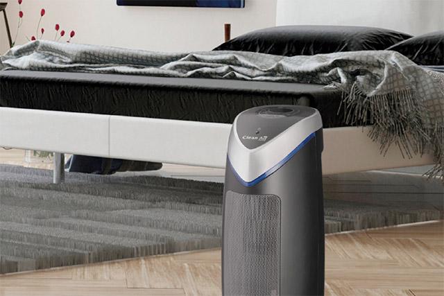 Ventilator met luchtreiniging